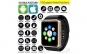 Smartwatch U-Watch GT08 Bluetooth Auriu, Compatibil MicroSD