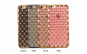 Husa 3D Grid Case Iphone 6/6S,Gold