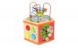 Cub educativ Montessori 6 in 1, lemn bine finisat si lacuri ecologice, design atractiv, solid si stabil Black Friday Romania 2017