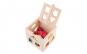 Joc cognitiv de constructie o cutie cu 13 spatii pentru forme din lemn