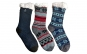 Ciorapi antiderapanti, cu interior imblanit - pentru barbati - Model Winter Season