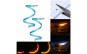 Lumini de zi, DRL, slim, cu semnalizare dinamica  secventiala 45cm