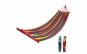 Hamac colorat cu bara din lemn