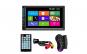 MP5 Player Techstar® 7060  2DIN  Camera Marsarier  Ecran HD Touch 7 inch  Comenzi Volan  Telecomanda  MirrorLink  Bluetooth 4.2