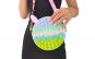 Jucarie Pop It Now and Flip It in forma de geanta, multicolora Minnie