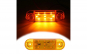 Lampa led 12v-24v,  galben, 9smd