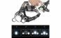 Lanterna de cap 3 x LED Cree XML, T6
