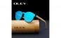 Ochelari de soare Oley vintage, bambus, polarizati