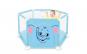 Tarc de joaca pentru copii cu imprimeu si usita cu fermoar, Albastru  TT3004 Black Friday Romania 2017
