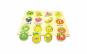 Puzzle lemn, tablita incastru, fructe, 12 piese, WD2002
