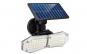 Lampa 78 LED cu panou solar dublu