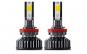 Set 2 leduri hb4 9006 super canbus, 50w, 10.000lm, ventilator mic, 12v-24v, alb 6000k