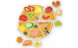 Joc educativ magnetic Pizza Roter Kafer