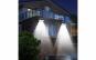 Set 2 x Lampa LED Solara 2638A 55 de LED-uri cu Senzor de Miscare