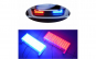 Set Straboscop rosu-albastru Profesional 18x7 CM LED