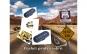 Car kit Handsfree, cu Wireless si Bluetooth + set Ochelari HD Vision pentru zi si pentru noapte