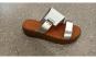 Papuci dama din piele,swbsa,swbw,alb argintiu, 34-40