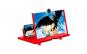 """Ecran Lupa De 12 """", 3D HD amplificator de marire pentru telefon mobil, proiector pentru filme video (Rosu)"""