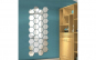 Oglinzi Design Hexagon - Oglinzi Decorative Acrilice Cristal - Diamant - MyStyle Luxury Home,Argintiu,160x138MM
