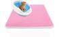 Covor pentru colectarea granulelor de nisip pentru pisici, Aexya, Roz, marimea S