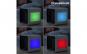 Racitor de aer portabil,INNOVAGOODS,capacitate 500ml, LED multicolor lateral, 3 viteze, albastru