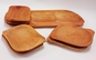 Platou dreptunghiular din lemn cu 6 farfurii, la 89 RON in loc de 178 RON