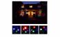 Proiector laser fulgi de zapada colorati
