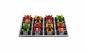 Set 8 mini ATV metalice diverse culori