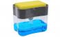 Dispenser 2 in 1 pentru detergent lichid de vase cu suport pentru burete