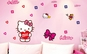 Autocolant Hello Kitty Sticker Perete