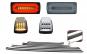 Stopuri Full LED Fumurii + Bandouri Laterale +Lampi Semnalizare Albe LED AMG Design compatibil cu Mercedes Benz W463 G-Class (1989-2015)