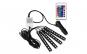 Lumini Ambientale auto Kit interior LED 12 SMD RGB Music Controler cu telecomanda Wireless