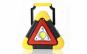 Lampa de avertizare triunghi, acumulatori + solar