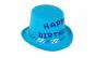 Palarie aniversara pentru baieti Happy birthday, albastru turcoaz, Pufo Black Friday Romania 2017