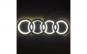 Emblema haion LED alb pentru Audi
