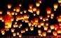 Set 10 lampioane zburatoare colorate