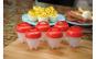 Set 6 forme din silicon - pentru preparat oua + feliator