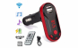 Modulator FM mp3 player cu incarcator pentru diverse dispozitive incorporat + priza bricheta tripla si USB incorporat