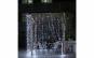 Instalatie de Craciun tip perdea, fir transparent 3 X 3 m, 300 Leduri Alb Rece