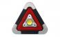 Triunghi multifunctional portabil, Lumina alb/rosu LED-Incarcare Solara