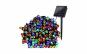 Instalatie multicolora 200 LED-uri, incarcare solara, 20 metri