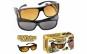 Set 2 perechi ochelari de zi si de noapte HD Vision + Organizator pentru scaun auto