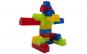 Cuburi de constructii  in saculet,160 de piese