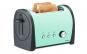 Prajitor de paine Trisa Retro Line 7367.1412 culoare verde, putere 800W,  6 pozitii reglabile pentru o rumenire perfecta a painii