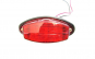 15 x 05 Lampa LED 24V Rosu