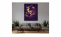 Tablou Canvas Pop Art Owl 95 x 125 cm