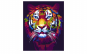 Tablou Canvas Pop Art Tiger 75 x 95 cm rama de lemn ascunsa margini printate