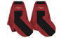 Set huse scaun Renault Magnum 2002-2012 rosu
