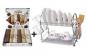 Suport de vase din Inox + Set 6 prosoape din bumbac 100% pentru bucataria ta - numai 99 RON redus de la 179 RON