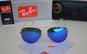 Ochelari de soare model unisex, cu lentile oglinda colorate, la 188 RON in loc de 899 RON